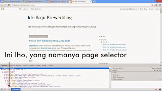 Mengedit Template Blogspot Dengan Developer Tool