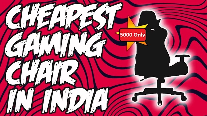 Top 5 Best Gaming Chair under 5000 in India 2021