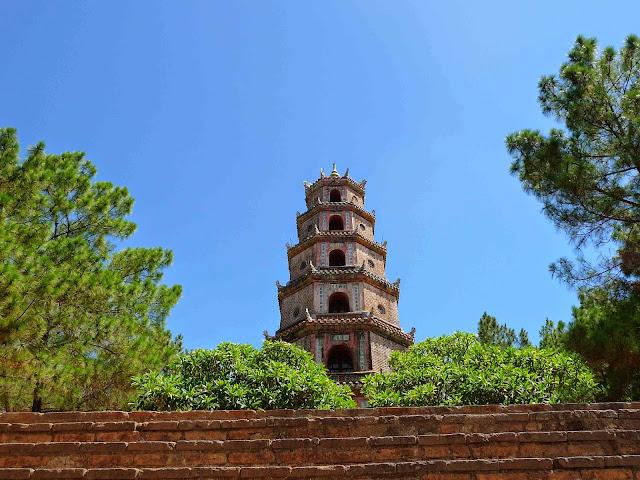 Vietnam, Hué, Thien Mu Pagoda