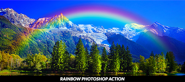 Rainbow Maker Photoshop Action