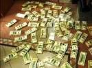 Había 750 mil dólares, 250 mil pesos y 10 mil euros.