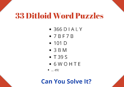 Ditloid Word Puzzles