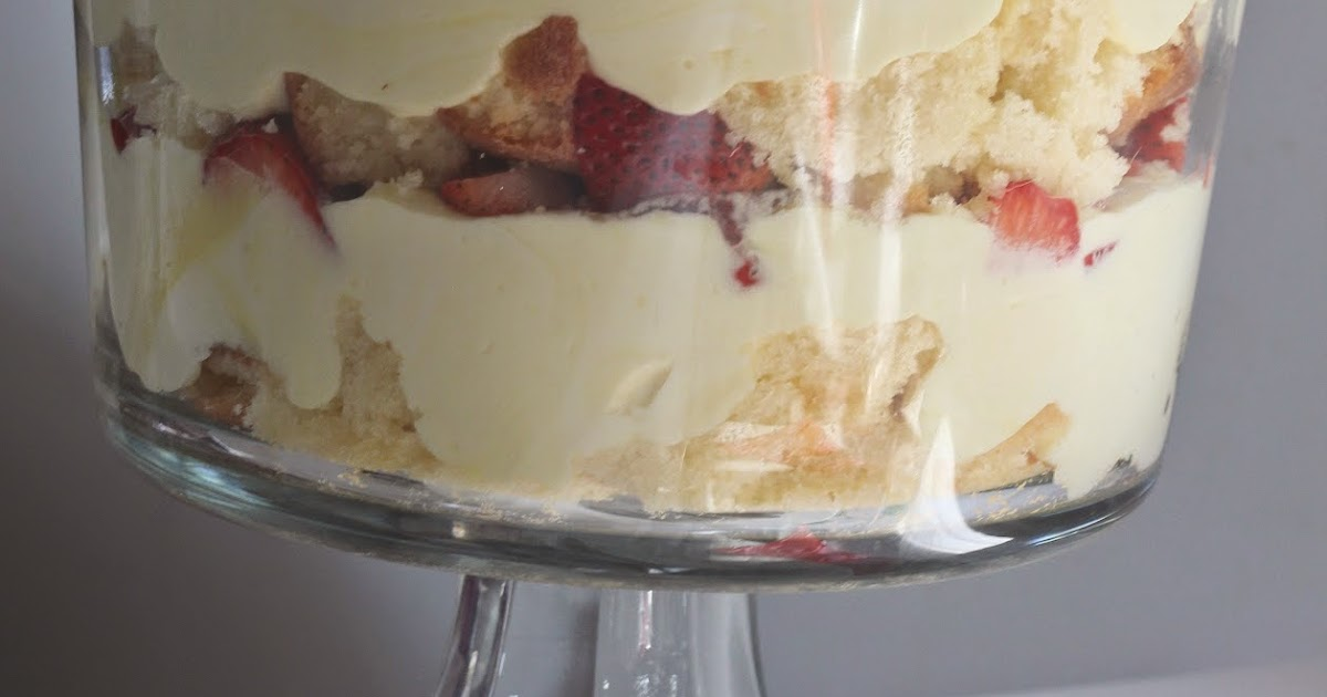 Served Up With Love Lemon Berry Trifle
