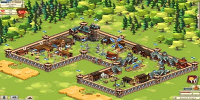 Screenshot: Empire: Four Kingdoms for Android