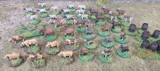 15mm scale farmyard animals by Museum Miniatures