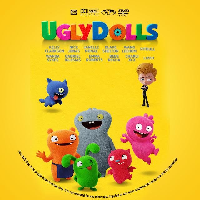 UglyDolls DVD Cover