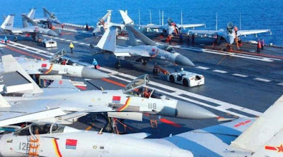 Chinese fighter aircraft
