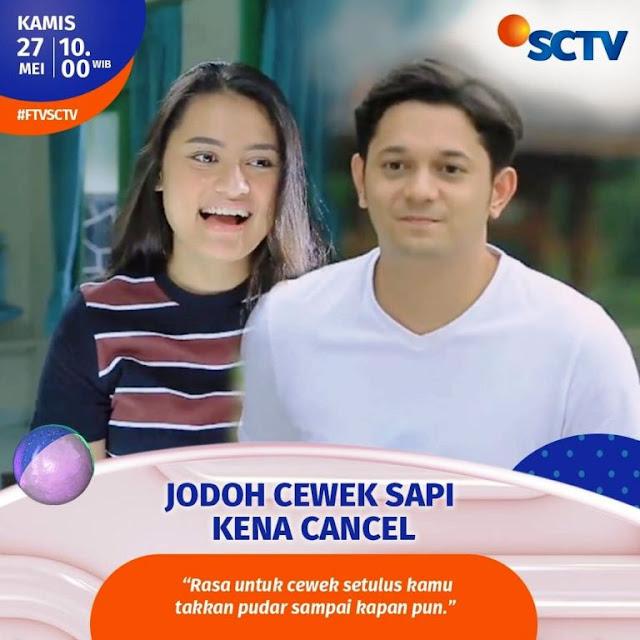 Daftar Nama Pemain FTV Jodoh Cewek Sapi Kena Cancel SCTV 2021 Lengkap