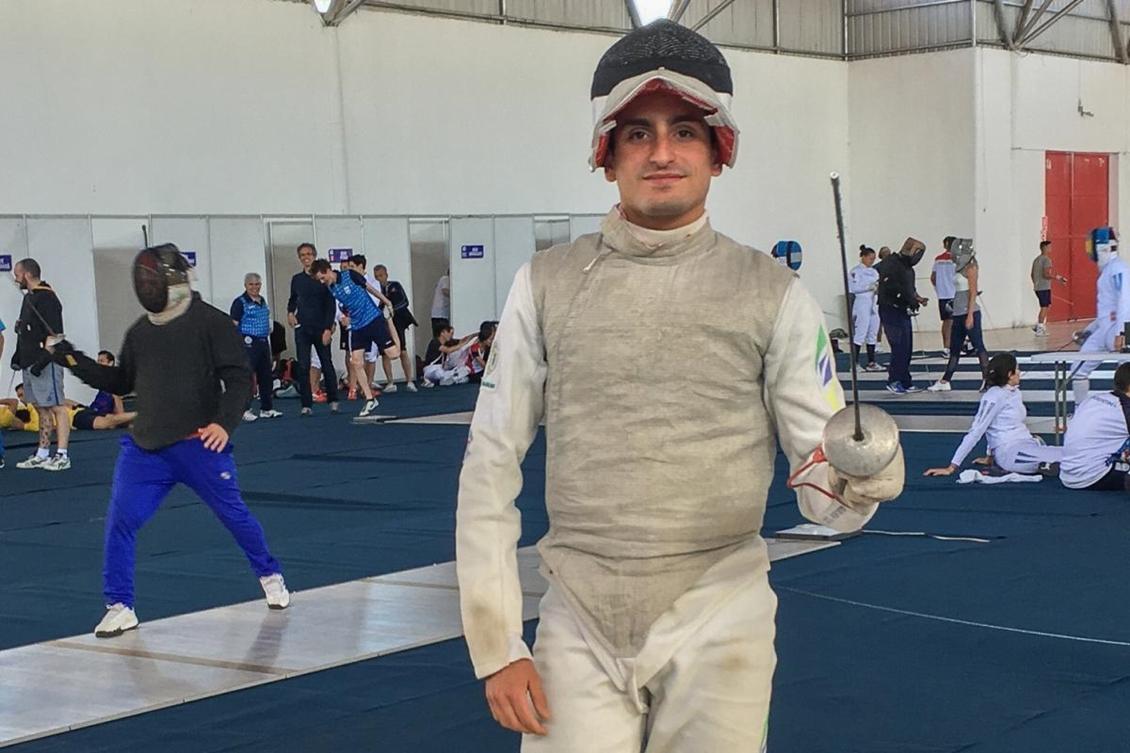 Guilherme Toldo brazil fencing esgrima brasileira