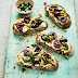 RECIPE: Goat Cheese, Griddled Cherry and Gremolata Toast