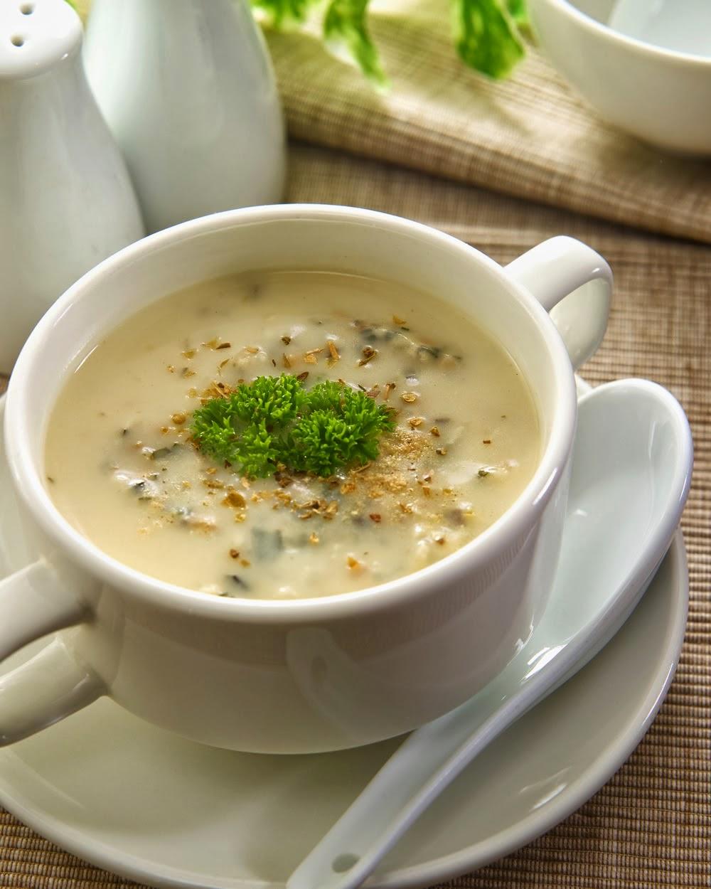 resepi  cendawan berkrim  roti bawang putih sihat  ubat Resepi Sup Ayam Kiub Maggi Enak dan Mudah