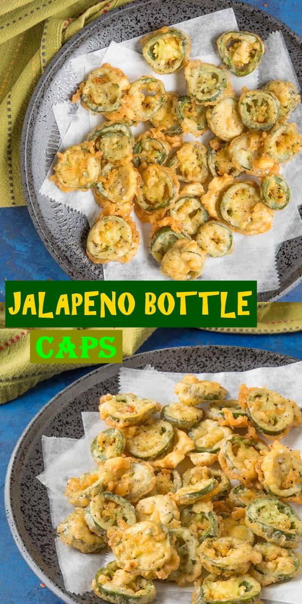 JALAPENO BOTTLE CAPS #appetizerrecipes