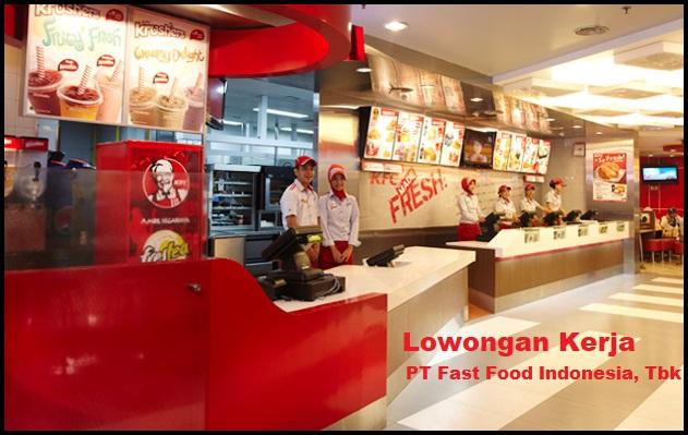 Kesempatan Karir KFC (PT. Fastfood Indonesia, Tbk) Dengan Posisi Crew Restaurant, Driver Operational, ETC Lulusan SMU, SMK, Sederajat