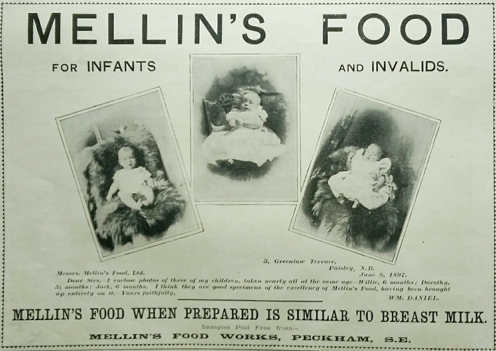 Mellin S Food For Infants And Invalids