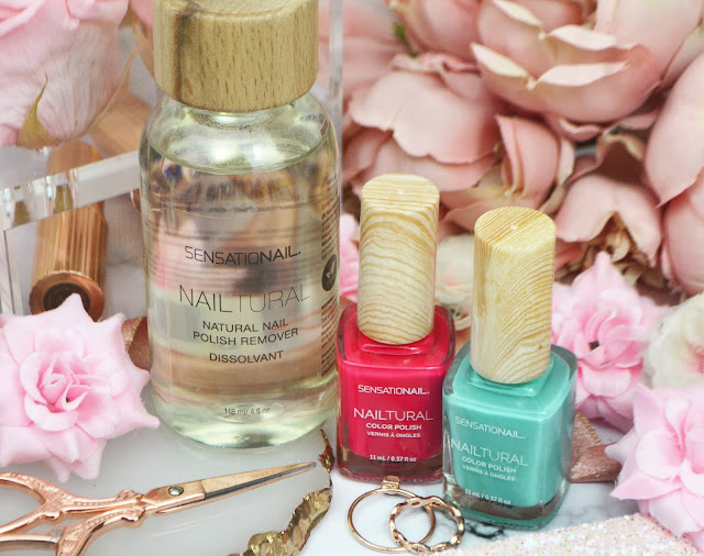 SensatioNail's Nailtural Colour Polishes & Natural Remover Review, Lovelaughslipstick Blog