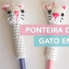 Puntera Gatitos a Crochet
