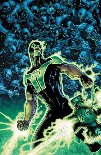 Simon Baz en un Green Lantern