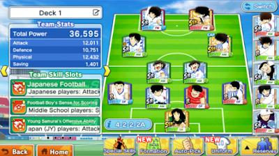 Download Mod Captain Tsubasa Apk