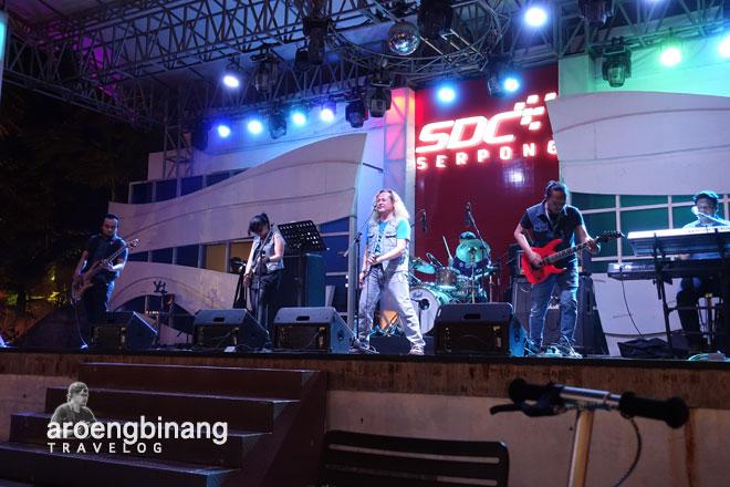 live music scientia square park tangerang
