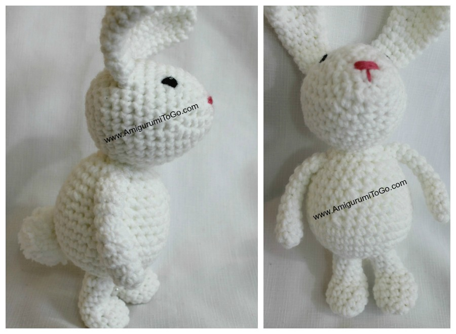 Amigurumi Bunny Free : Winter bunny free amigurumi pattern ~ amigurumi to go