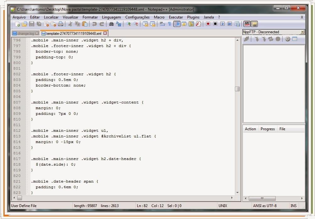 NotePad++ editor multiuso