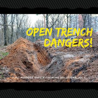 Open Trench Work Dangers