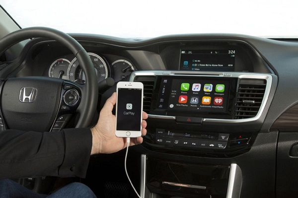 HONDA 2016 Accord with Android Auto and Apple CarPlay announced
