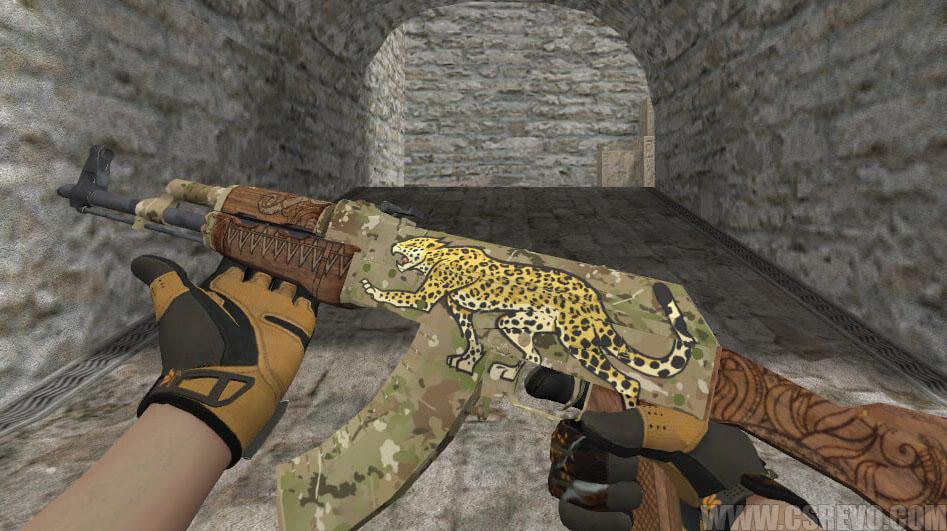 Skin AK47 - Panthera (CS:GO) - HD para CS 1.6