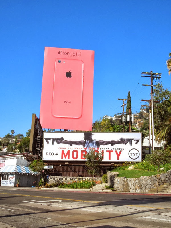 Mob City billboard