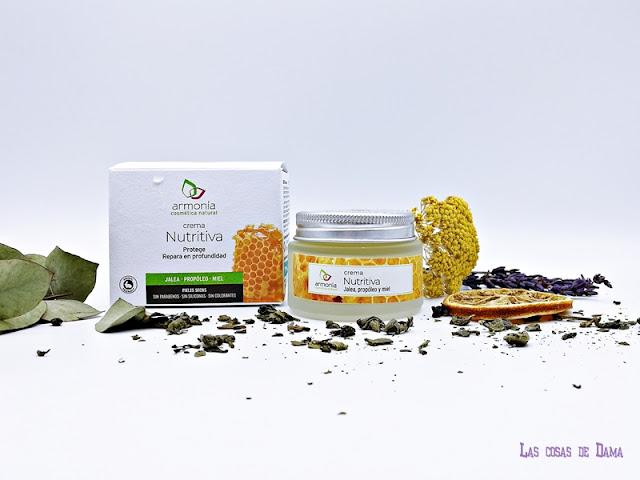 Crema Nutritiva Armonía Cosmética Natural facial cremas beauty belleza skincare reciclar