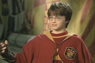 Archive video: Harry Potter interview (2001)
