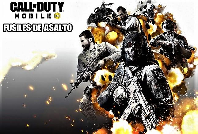 Rifles de Asalto de Call Of Duty Mobile