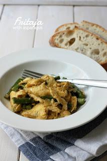 Фритая с Аспержи/ Fritaja with asparagus