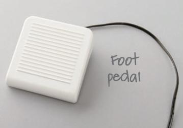 sewing machine foot padel