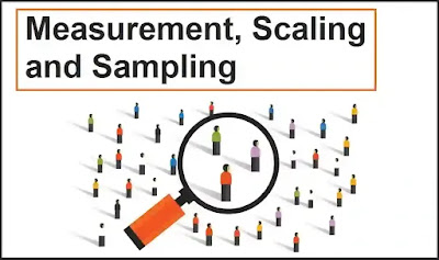 Measurement, Scaling and Sampling │ Business Research Methods │ Free BBA PDF