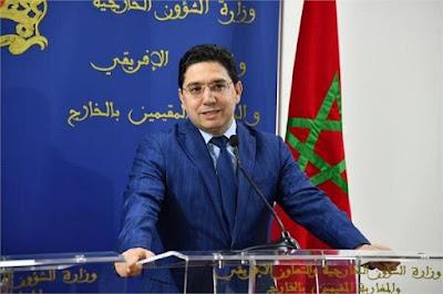 وزير الخارجية المغربي ناصر بوريطة يقصف صحافي انفصالي بصواريخ نارية