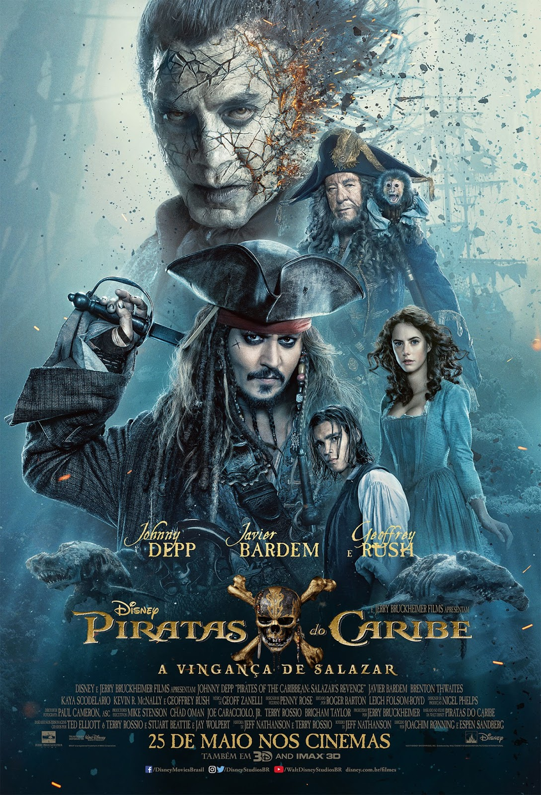 Piratas do Caribe 6 | Karen Gillan pode ser protagonista do novo filme