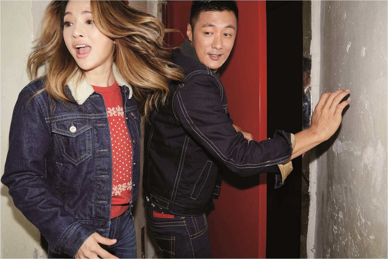 Live It Up with Levi's 2015 Chinese New Year Edition, Live It Up, Levi's Chinese New Year 2015 Edition, Levi's, Levi's Malaysia, Levi's Skinny Jeans, Shawn Yue, Ai Fei