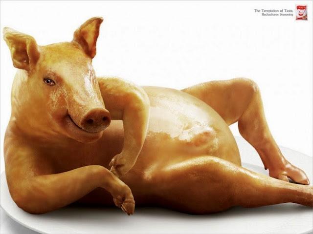 Un cerdo muy sexy.
