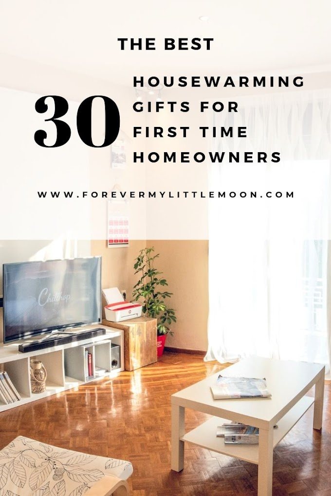 The Best 30 Housewarming Gifts for First Time Homeowners