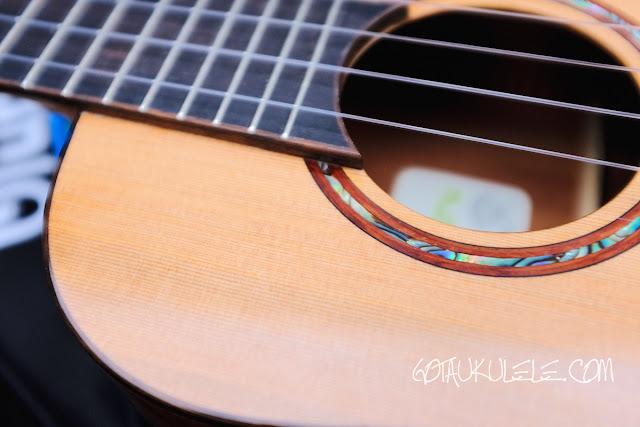 Uluru Sedera III tenor ukulele decor