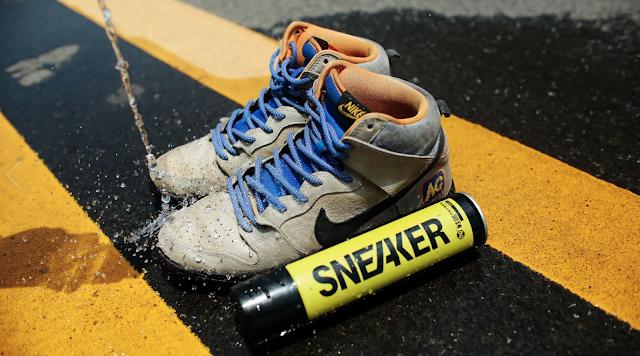 【防水用品】Sneaker 納米波鞋防水噴霧 落雨都唔怕