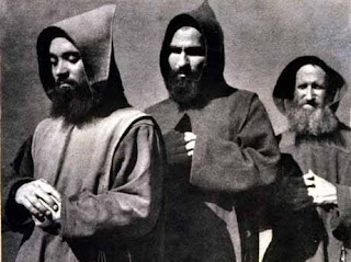 Story of the replies of three Monks, when asked by the Devil what they will do if he gives them the power to change the past