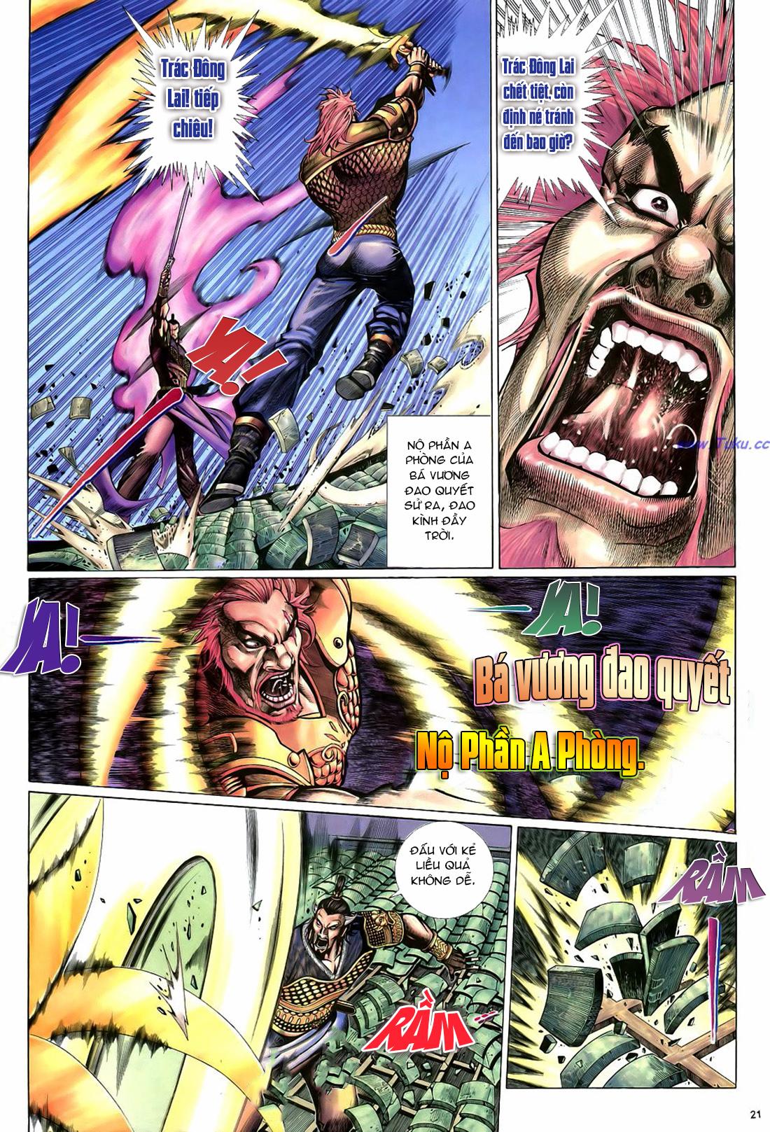 Anh hùng vô lệ Chap 22 trang 22