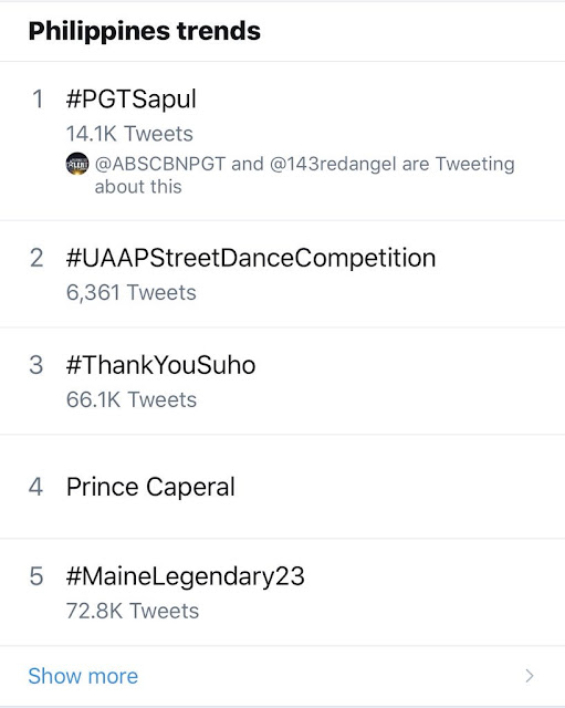 #PGTSapul Was The #1 Trending Topic In PH!