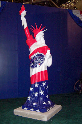 Lady Liberty at the All Star Game FanFest