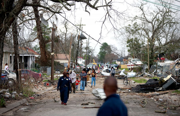 Video: Tornadoes hit New Orleans, several people injured