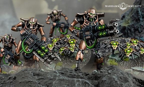 Guerrero Necrón Kill Team