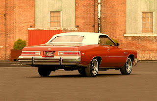1975 Buick LeSabre Convertible Side Rear
