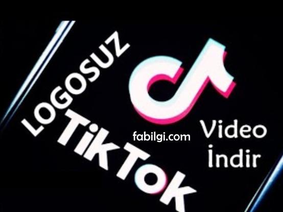 TikTok Logosuz Video İndirme Yöntemi Yeni Site Uygulamasız 2021